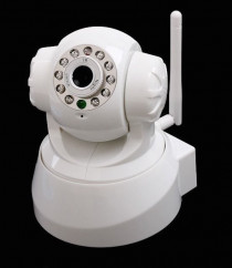CCTV Baby Monitor Camera-360 Degrees- AUDIO Video- Apple or Android FREE apps