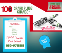 SPARK PLUG REPLACEMENTS FOR 100 ANY VEHICLE