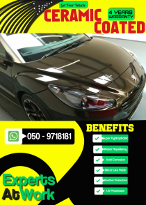 Ceramic Coating Available At Best Rates
