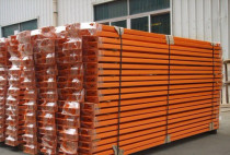 RACKS FOR WAREHOUSE ORANGE AND BLUE COLOR FOR SELL AED60 CALL 0552434750
