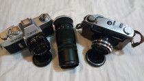 Collective Cameras( 2 cameras + 1 Lens)