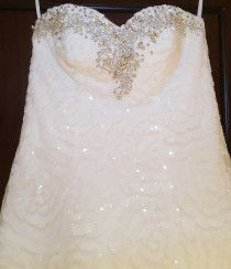 Sequins Crystal Wedding Dress only 999aed