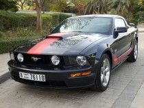 Its a ford mustang v8 Gcc specs.amazaing car to drive with high torque