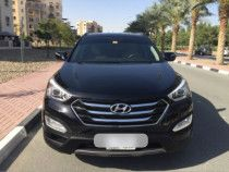 HYUNDAI SANTA FE 3.3L, 2013 ONE FEMALE DRIVER, EXCELLENT CONDITION 48,000AED ONO