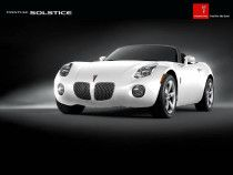 Lady driven Pontiac Solstice
