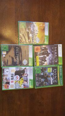 XBOX 360 games bundle - GERMAN versions