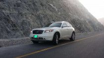 INFINITI FX35, 2008 YEAR, GCC. FULLY LOADED