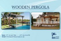 Wooden Pergola Uae | Garden Pergola | Outdoor Pergola | Wooden Gazebo Uae.