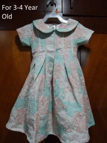 Girl's Party Wear Dresses for Ages 2-4