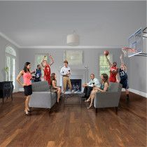 Hardwood flooring multiple varieties