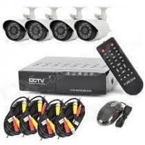 4 CH CCTV Kit