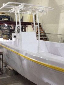 Boat 28 Feet, fiberglass with heavy duty trailer, Brand new - 45000 AED