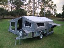 Trailer tent campers