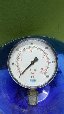 Bordon pressure gauges