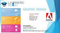 GRAPHIC DESIGNING COURSE: PHOTOSHOP ILLUSTRATOR & INDESIGN