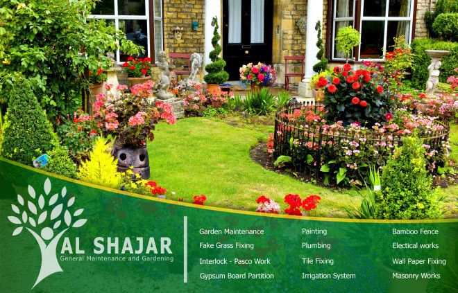 Al shajar general maintenance and gardening for General garden maintenance