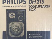Philips Speaker Box Model DH 215, 50W RMS, 2 Way Bass Reflex, Tuned Bass Port