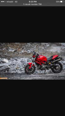 Ducati Monster 796 model 2011
