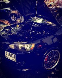 mitsubishi lancer modified going cheap 18k only 0555670085 for more info