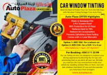 Car Window Tinting Package from Auto Plaza