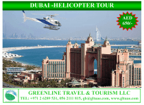 HELICOPTER TOUR-DUBAI