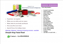 Fashion Designing Course, Sewing Course, Dress Making Course, PAttern Making
