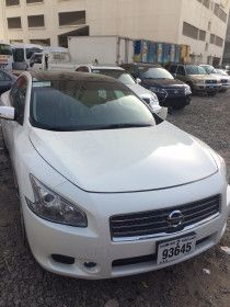 Nissan Maxima Available for Monthly Rent in Al Khan Sharjah