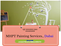 Painting Services by Expert Painters for house,villa painting Dubai.