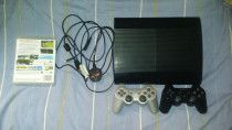Ps3 500gb with 2 Controllers and 8 games