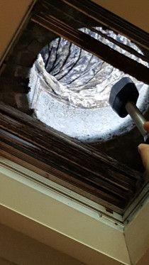 Specialized HVAC Duct cleaning Machine