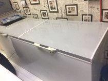 Double door chest freezer