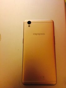 OPPO Smart Phone white and gold.