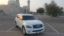 2013 infinity Qx56 low mileage 104000km Gcc