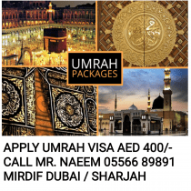 APPLY FOR UMRAH VISA FOR BEST PACKAGES