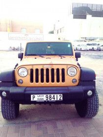 "2014 JEEP WRANGLER SPORT GCC (WITH 2.5"" LIFT KIT & NEW TYRES)"