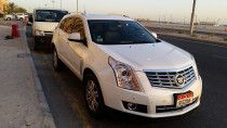 Cadillac SRX 3.6L V6 STD (June 2014)  for Sale in Deira Dubai