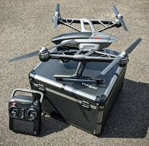 Yuneec Q500 4K Typhoon Quadcopter Drone RTF Aluminum Case with CGO3 Camera+ST10+