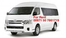 Luxury 14 seater 2017 model toyota Hiace for Rent in Dera Dubai