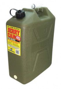 22L Plastic Water Jerry Can with Tap