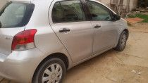 Silver Toyota Yaris for sale 2010 hatch backl