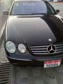 Mercedes CL 500 V8 in great condition black color