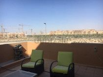 Rattan outdoor furniture rocking chairs