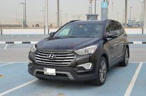 Amazing Hyundai Grand Santa fe /2014/ GCC Spec /Free of accident