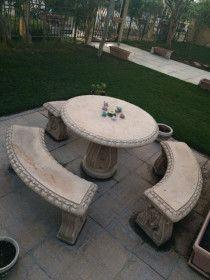 Roman Style Garden Set