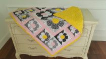 Floral baby quilt available for sale in Dubai