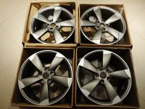 "Original Set of 19"" OEM Audi Rotor Wheels"