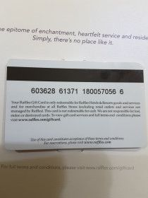 Gift voucher from Raffil hotel and resorts