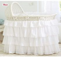 pottery barn bassinet bedding