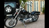 Harley Davidson softail Custom Motorcycle for sale