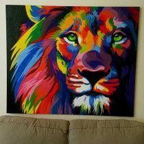 The king ) oil on canvas heba art
